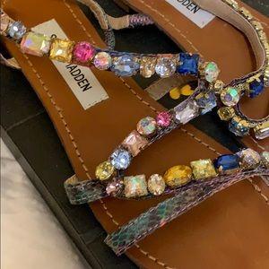 Colorful gem sandals